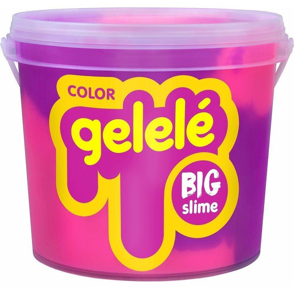 Gelelé Big Slime Color Sortidos Balde 1,5kg Acrilex