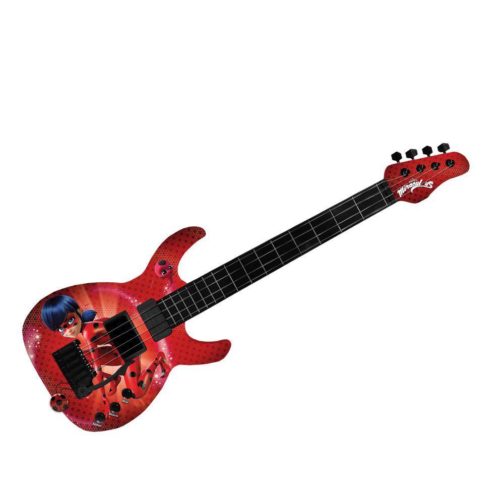 Guitarra Ladybug - Fun Divirta-se