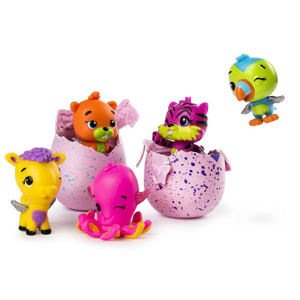 Hatchimals Colleggtibles Série 2 Blister Com 4 Ovos 1872 Sunny
