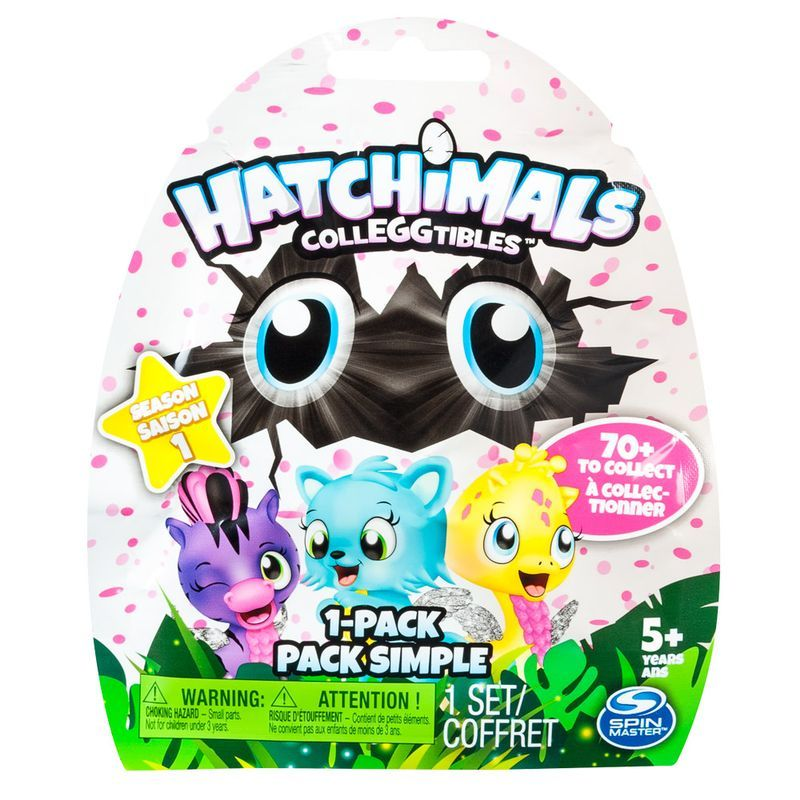 Hatchimals Série 2 Colleggtibles Saquinho Surpresa Pack 1 Un 1870 Sunny