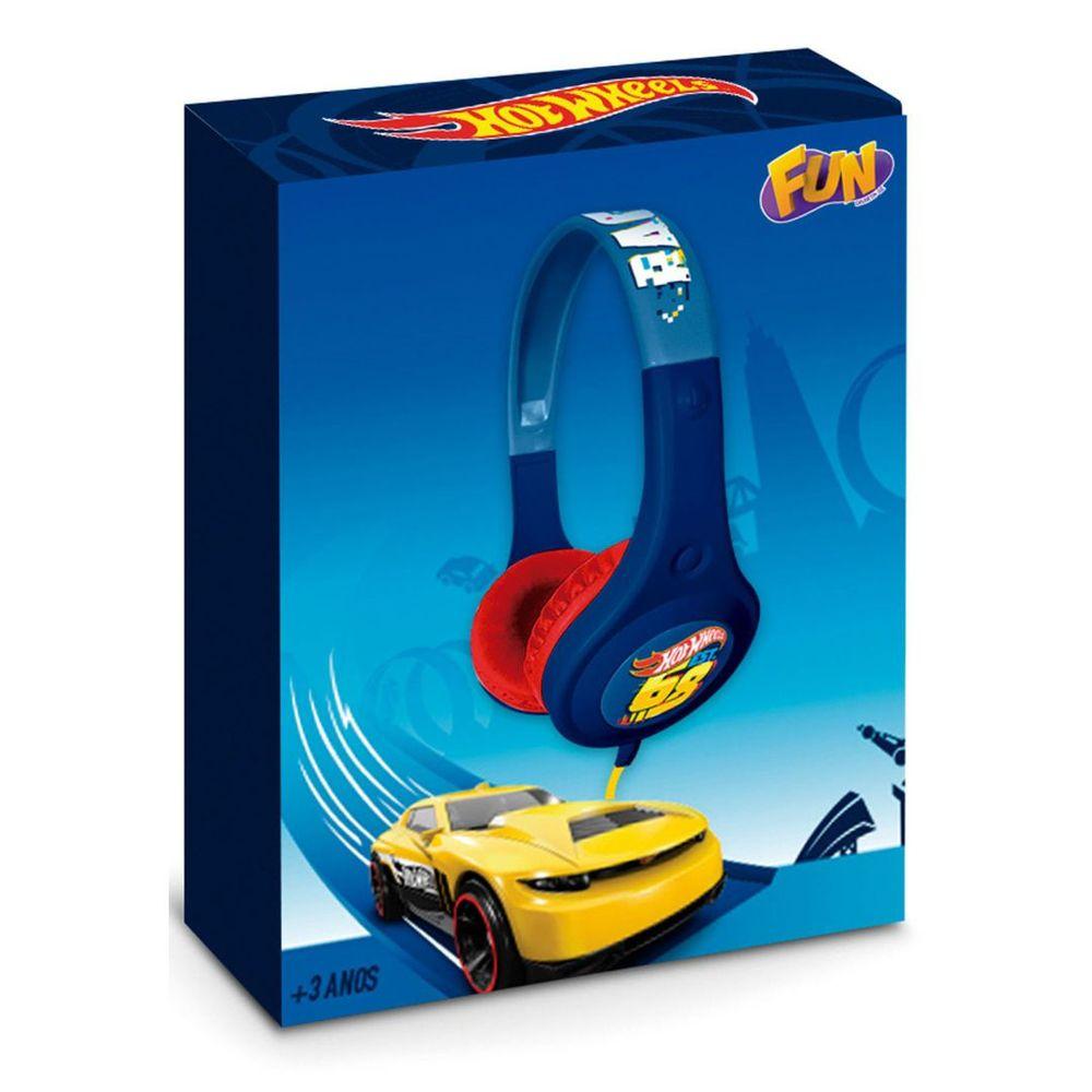 Hot Wheels Fone de Ouvido Radical 84264 Fun Divirta-se