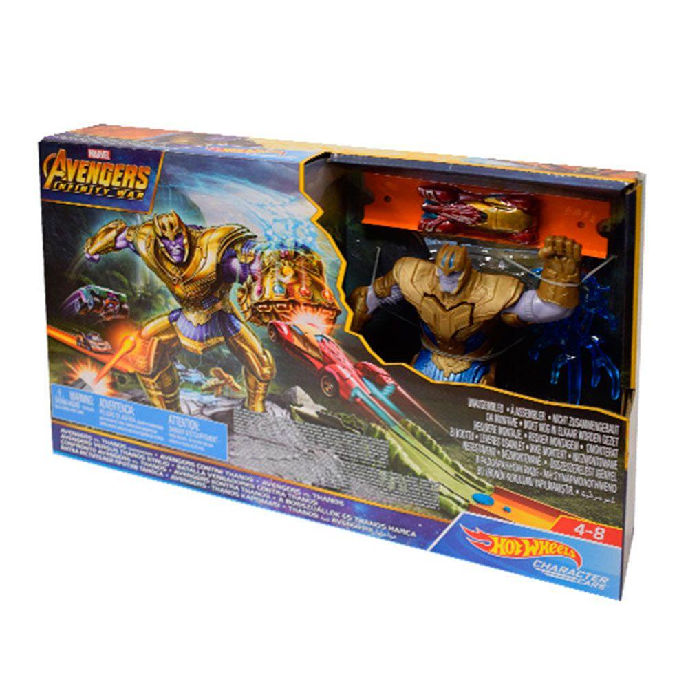 Hot Wheels Marvel Conjunto Thanos Mattel FLM81