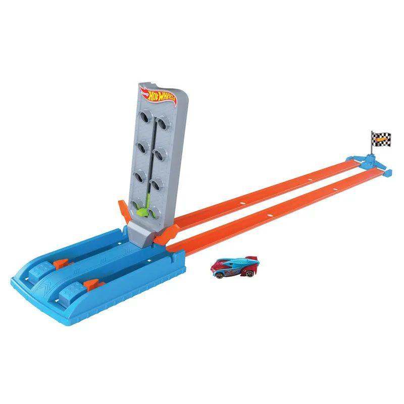 Hot Wheels Pista e Veículo Campeonato Reta GBF81 Mattel