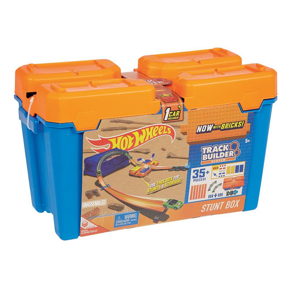 Hot Wheels Track Builder Caixa de Manobras Mattel FLK89 DWW95