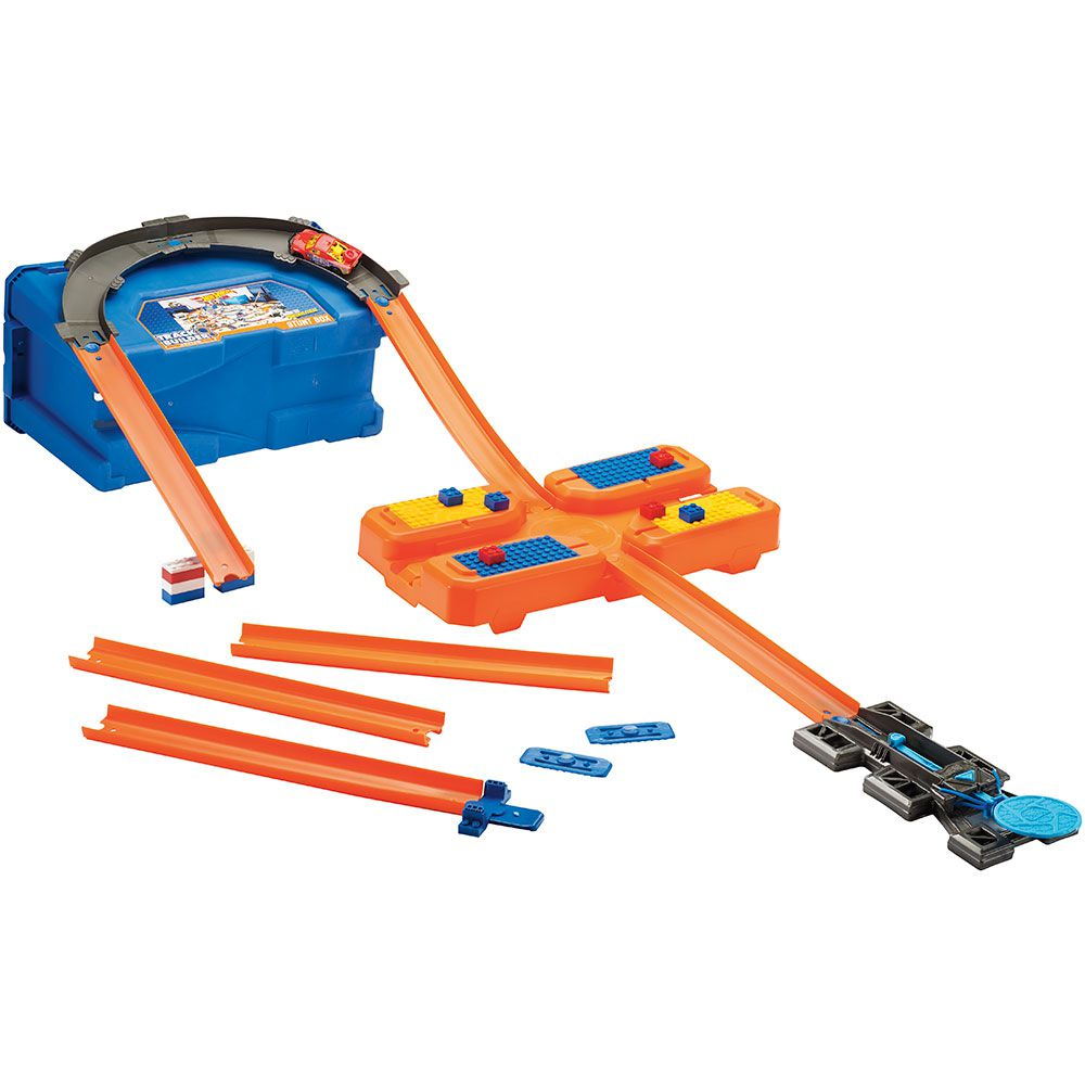 Hot Wheels Track Builder Caixa de Manobras Mattel FLK89 DWW95