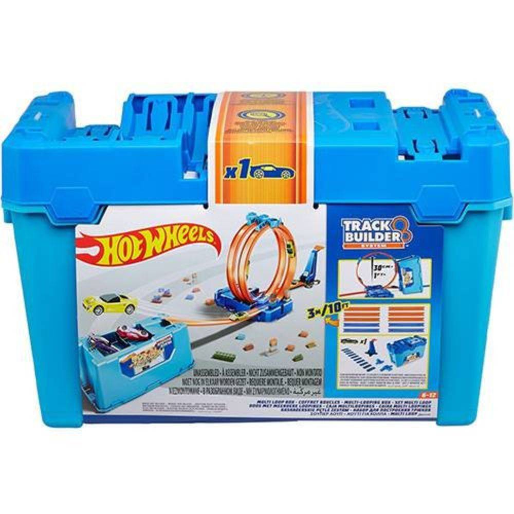Hot Wheels Track Builder Kit de Looping Mattel FLK90