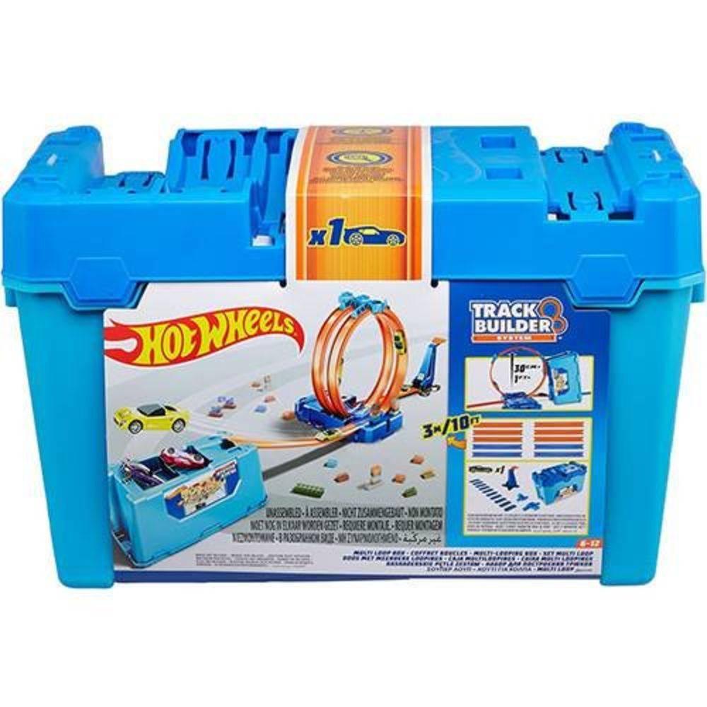 Hot Wheels Track Builder Kit de Looping Mattel FLK90