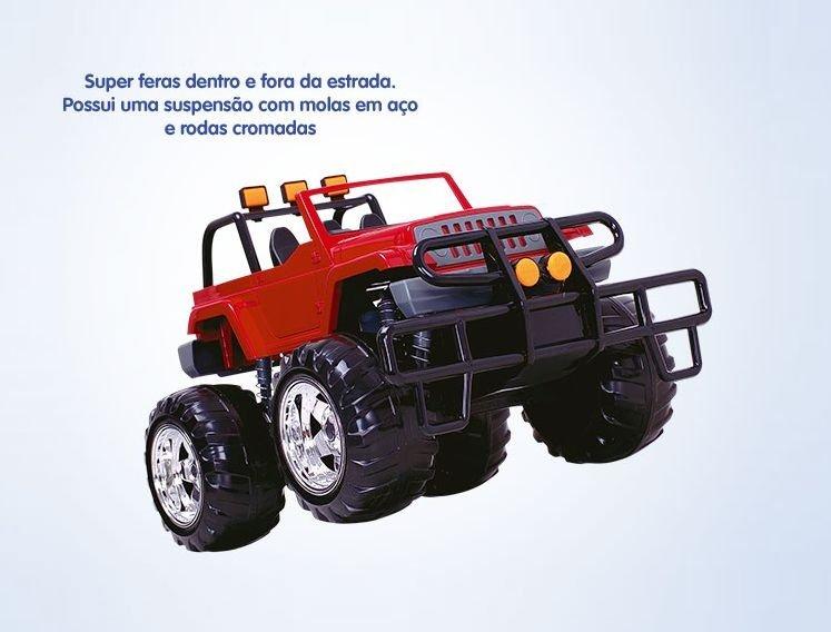 Jeep Road Foot Mecanizado Super Toys REF. 089