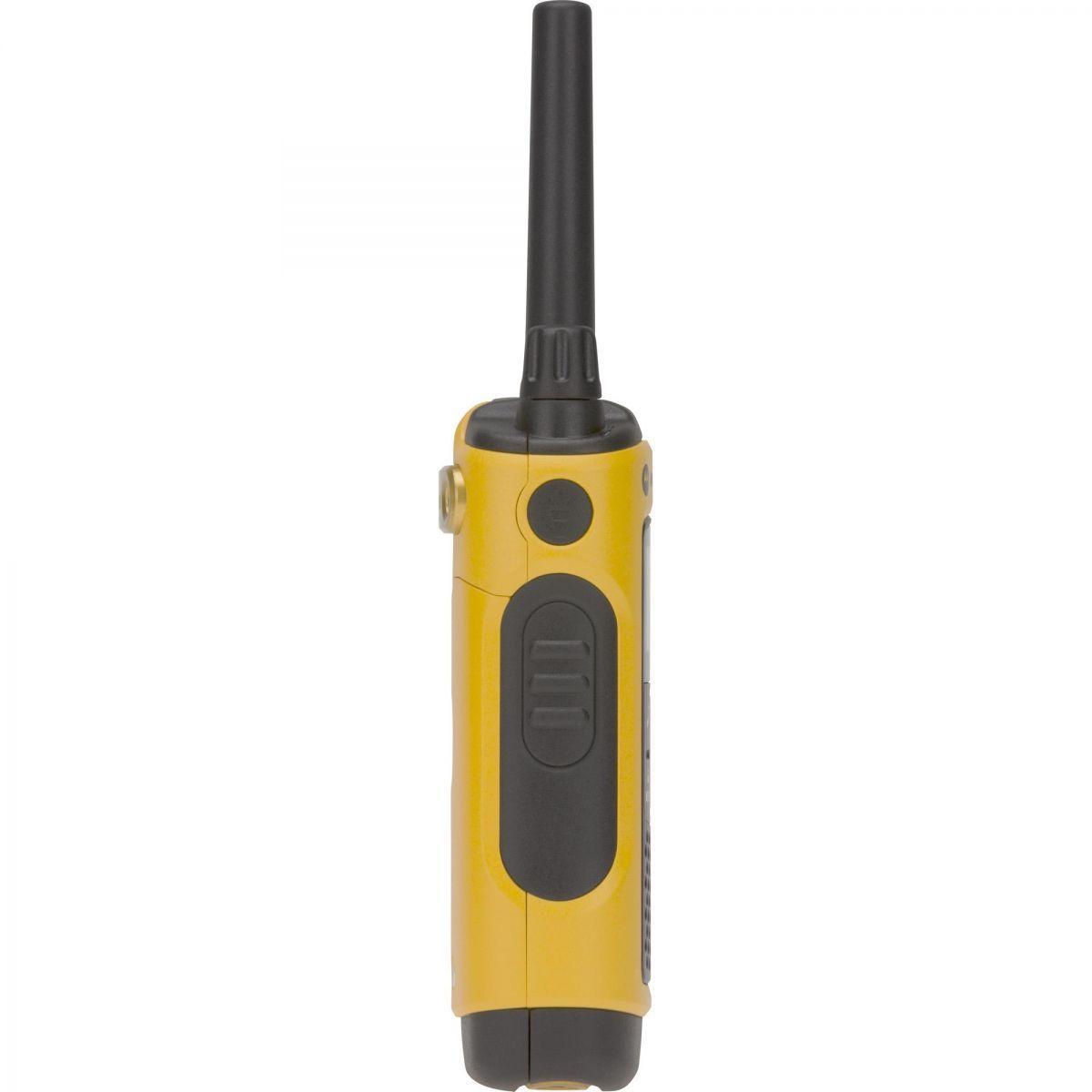 Kit 2 Pares Rádio Comunicador Talkabout 35km T400BR Amarelo MOTOROLA