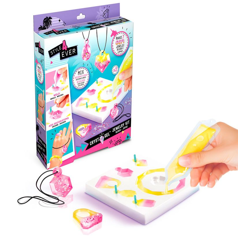 Kit de Joias Mini Cristal Gel Gem F00190 Fun Divirta-se
