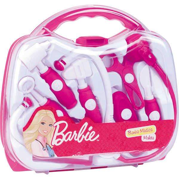 Kit Maleta Médica Barbie 74966 Fun