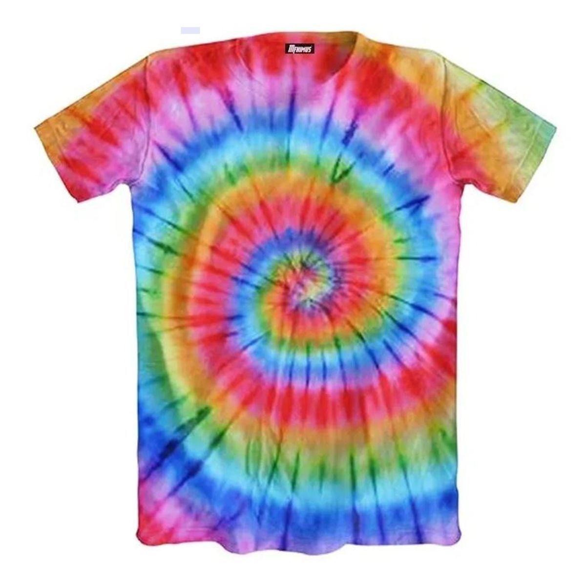 Kit Para Fazer Camiseta Infantil Tie Dye #EUQFIZ I9 Brinquedos 4 P