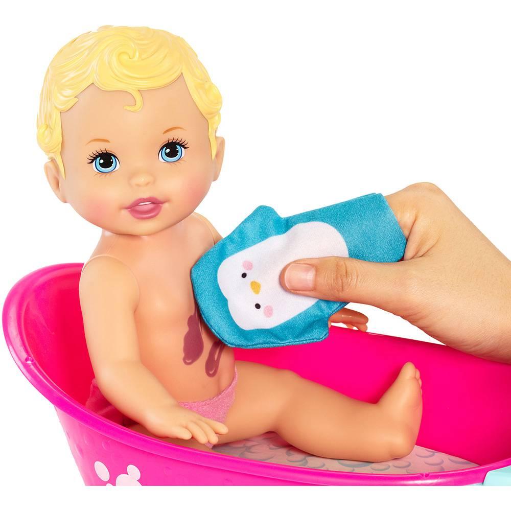 Little Mommy Brincadeira na Banheira DTG64 Mattel