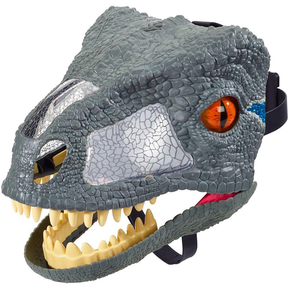 Máscara Eletrônica Velocipaptor Jurassic World FMB74 Mattel