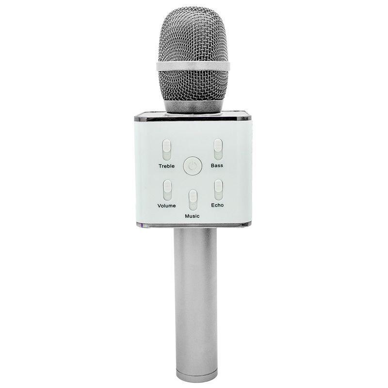Microfone Infantil Bluetooth Show Branco Toyng