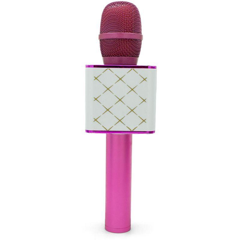 Microfone Infantil Bluetooth Show Rosa Toyng