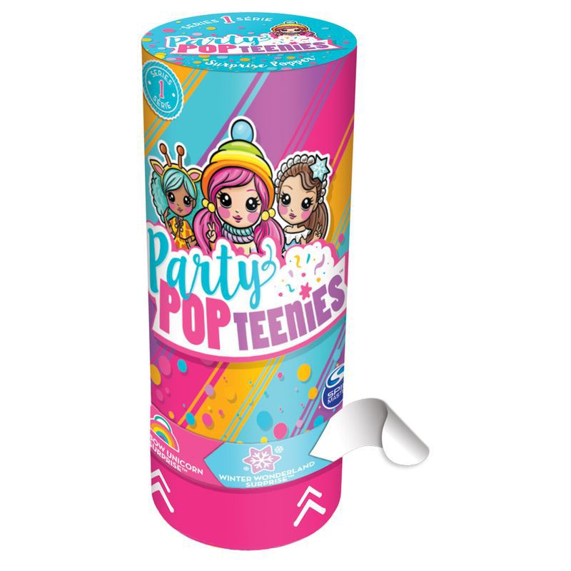 Mini Figura Sortida Poppers Party Pop Teenies Boneca Surpresa 1840 Sunny