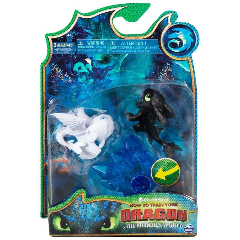 Mini Figuras e Acessórios - Como Treinar Seu Dragão 3 - Dragão Banguela e Fúria da Luz 1455 Sunny