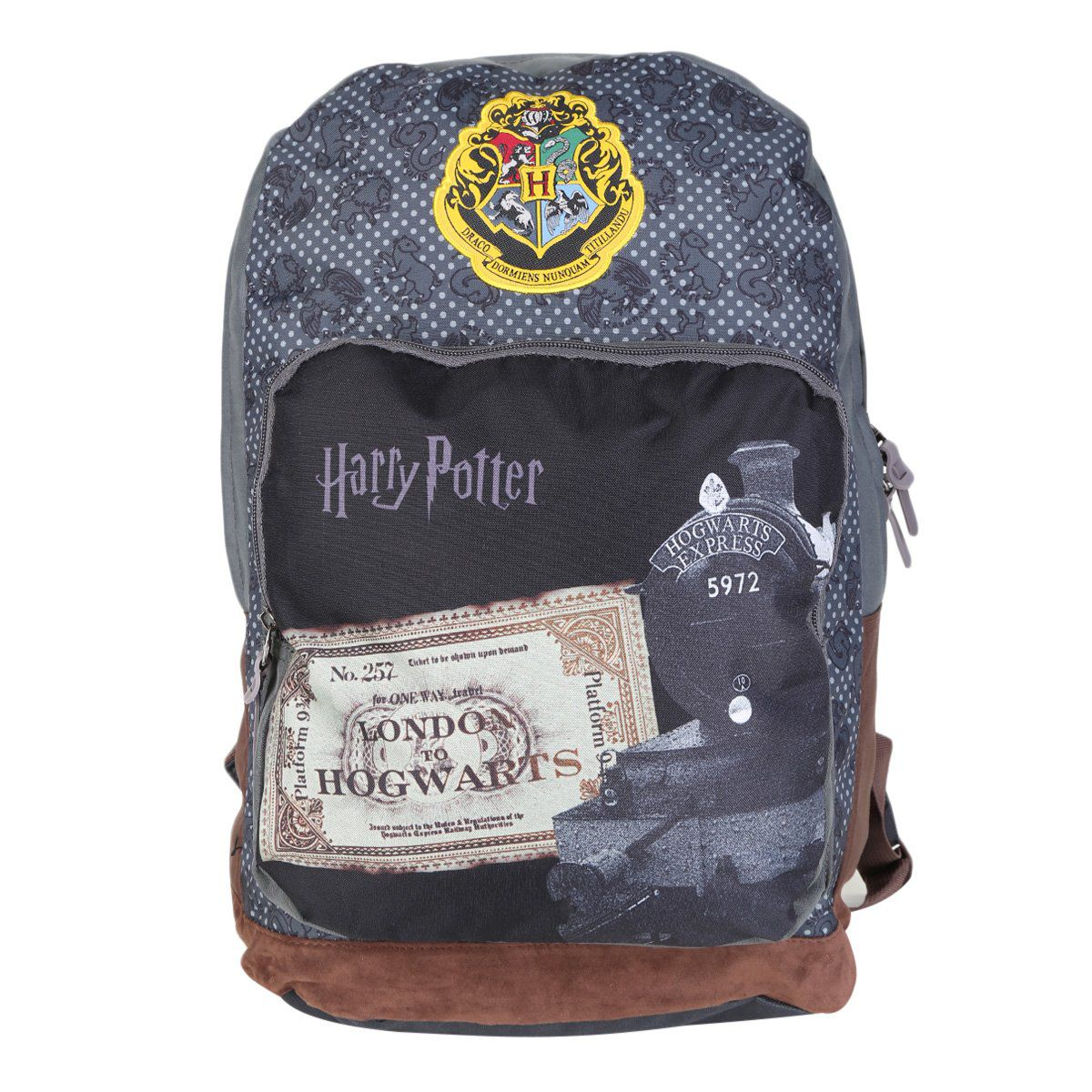 Mochila Disney Harry Potter Cinza MS45836HP09 Luxcel