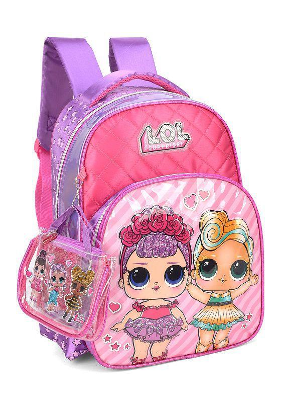 Mochila Escolar LOL IS34611LO Pink Luxcel