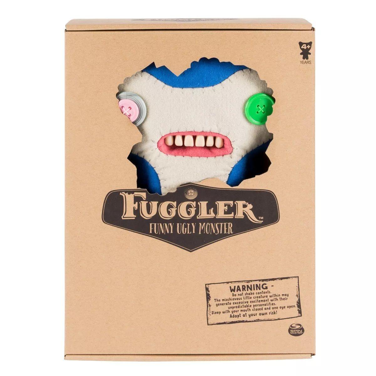 Pelúcia Monstruosa Azul Grande Fuggler Funny Ugly Monster 1916 Sunny