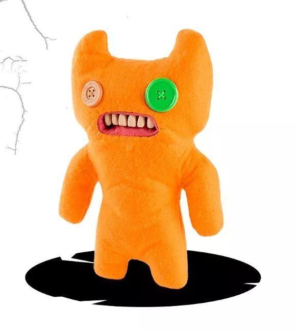 Pelúcia Monstruosa Laranja Média Fuggler Funny Ugly Monster 1915 Sunny