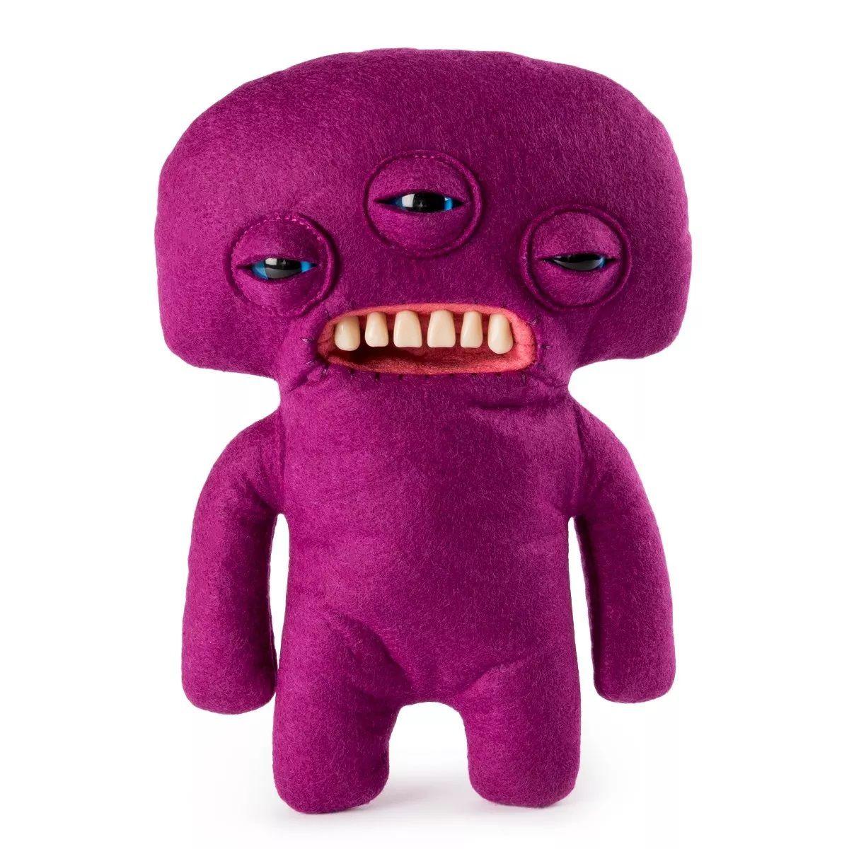 Pelúcia Monstruosa Roxo Média Fuggler Funny Ugly Monster 1915 Sunny
