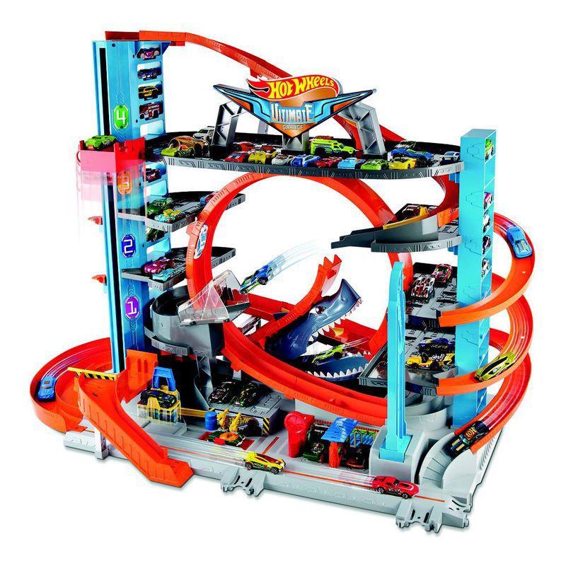 Pista e Veículo Hot Wheels City Mega Garagem FTB69 Mattel