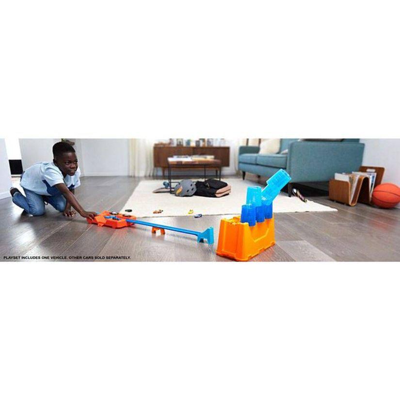 Pista Hot Wheels Kit Completo Stunt Box Caixa de Obstáculos GCF91 Mattel