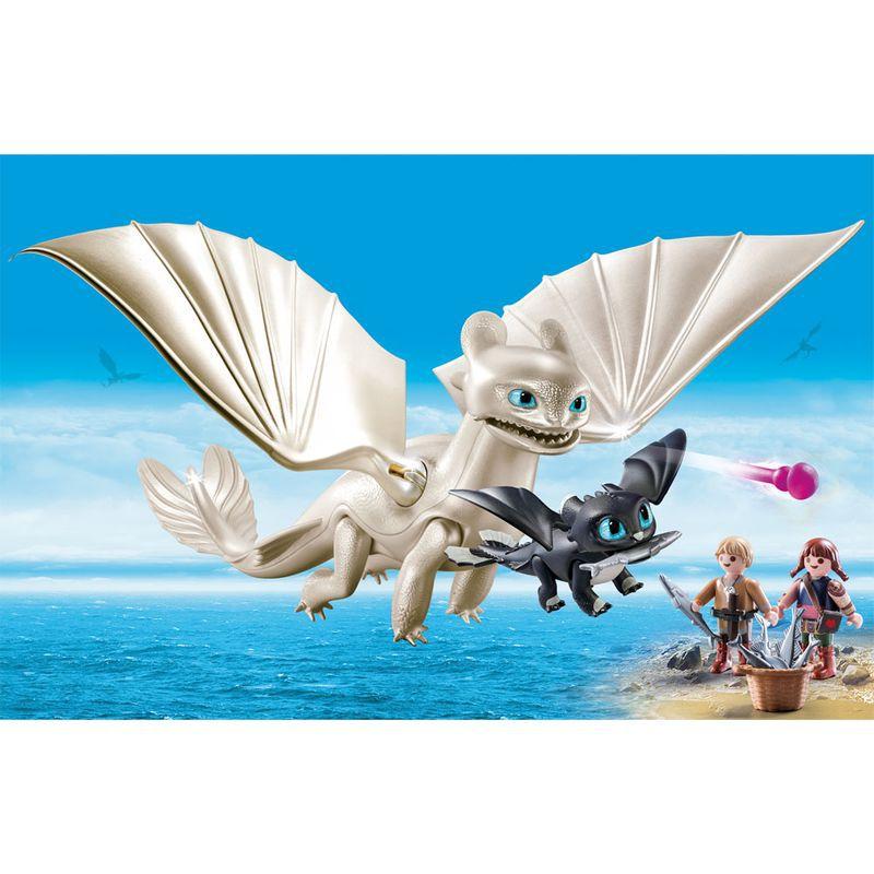 Playmobil Como Treinar Seu Dragão 3 Furia da Luz com Crianças 1591 Sunny
