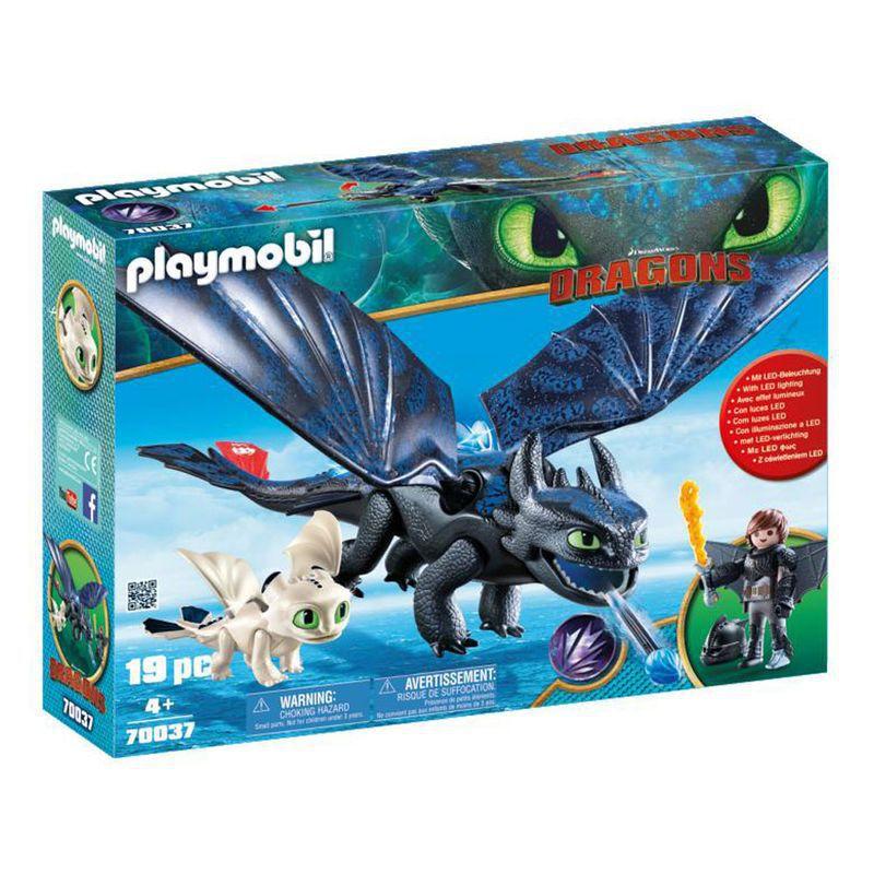 Playmobil Como Treinar Seu Dragão 3 Soluço e Banguela 1590 Sunny