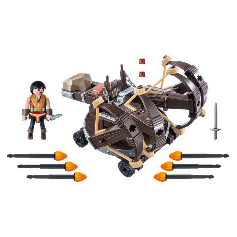 Playmobil Como Treinar Seu Dragão Eret e Catapulta 1783 Sunny