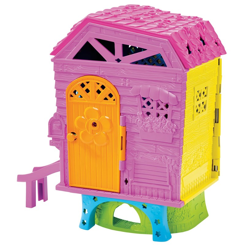 Playset e Mini Boneca Polly Pocket Club House da Polly DHW41 Mattel