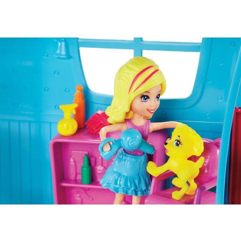Playset e Mini Boneca SPA dos Bichinhos FPH96 Mattel