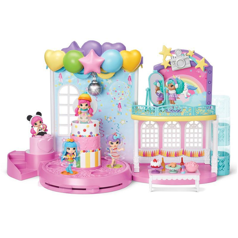 Playset e Mini Figura Sortida Poppers Party Pop Teenies Série 1 1843 Sunny