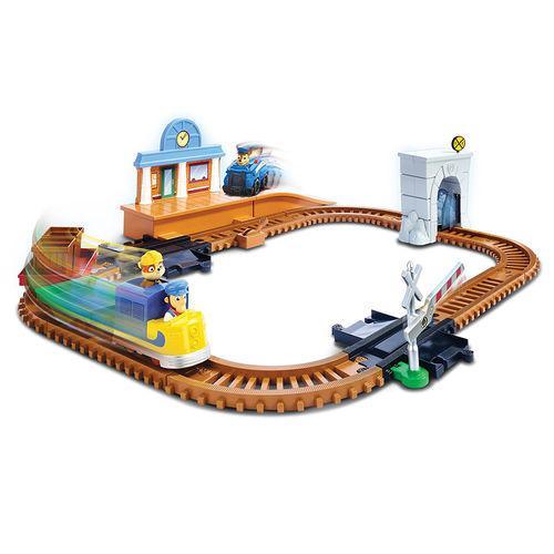 Playset Trem de Resgate Patrulha Canina Adventure Bay Railway Sunny 1350