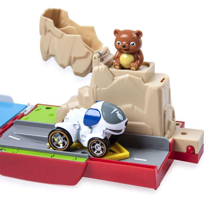 Playset Veículo e Pista de Percurso Patrulha Canina Ônibus Patrulheiro 1392 Sunny
