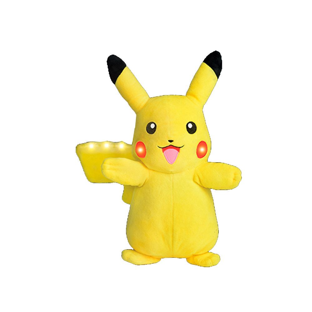 Pokemon Power Action Pikachu com Luz e Som 4851 DTC