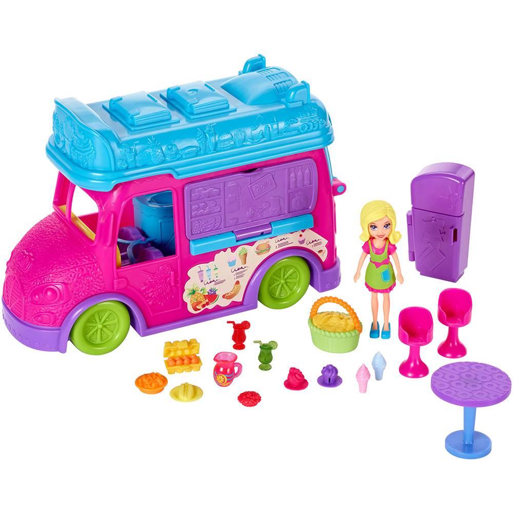 Polly Food Truck 2 em 1 FPH98 Mattel