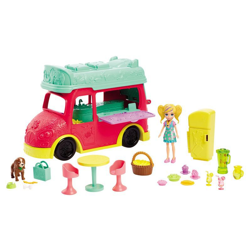 Polly Pocket Food Truck 2 em 1 GDM20 Mattel
