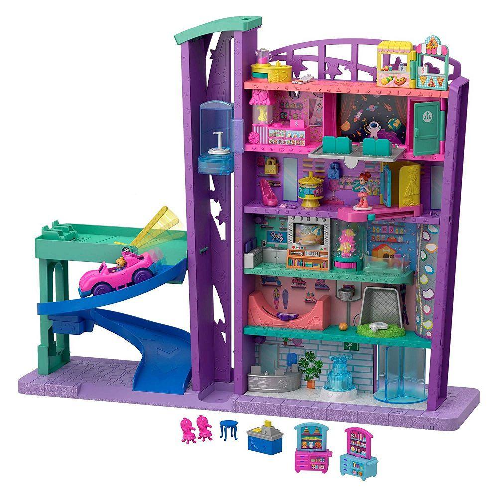 Polly Pocket! Mega Centro Comercial GFP89 - Mattel