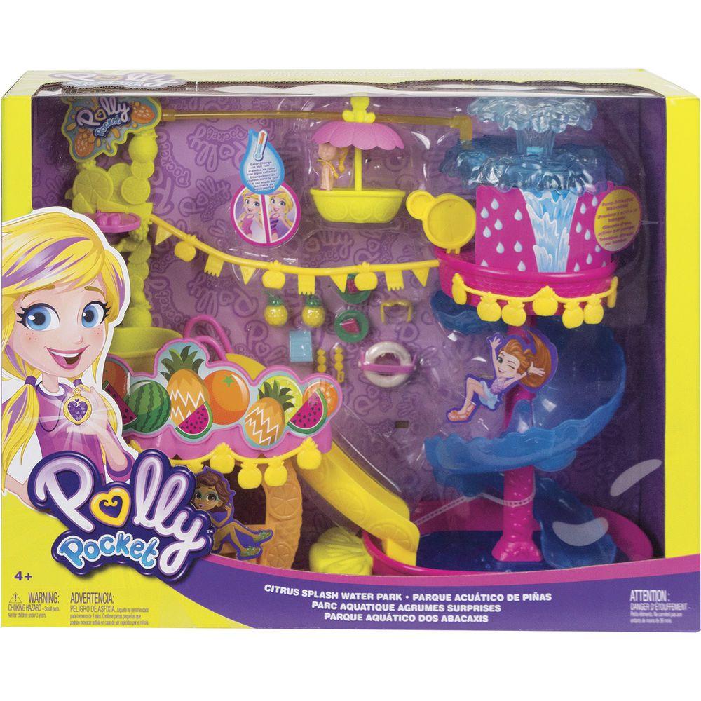 Polly Pocket Parque Aquático dos Abacaxis GFR02 Mattel