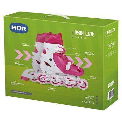 Roller Infantil Rosa Tamanho M 34-37 Ref. 40600123 Mor