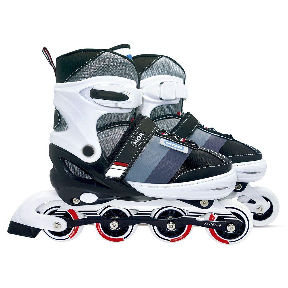 Roller Semi-Pro Cinza Tamanho G 39-42 Ref. 40600142 MOR