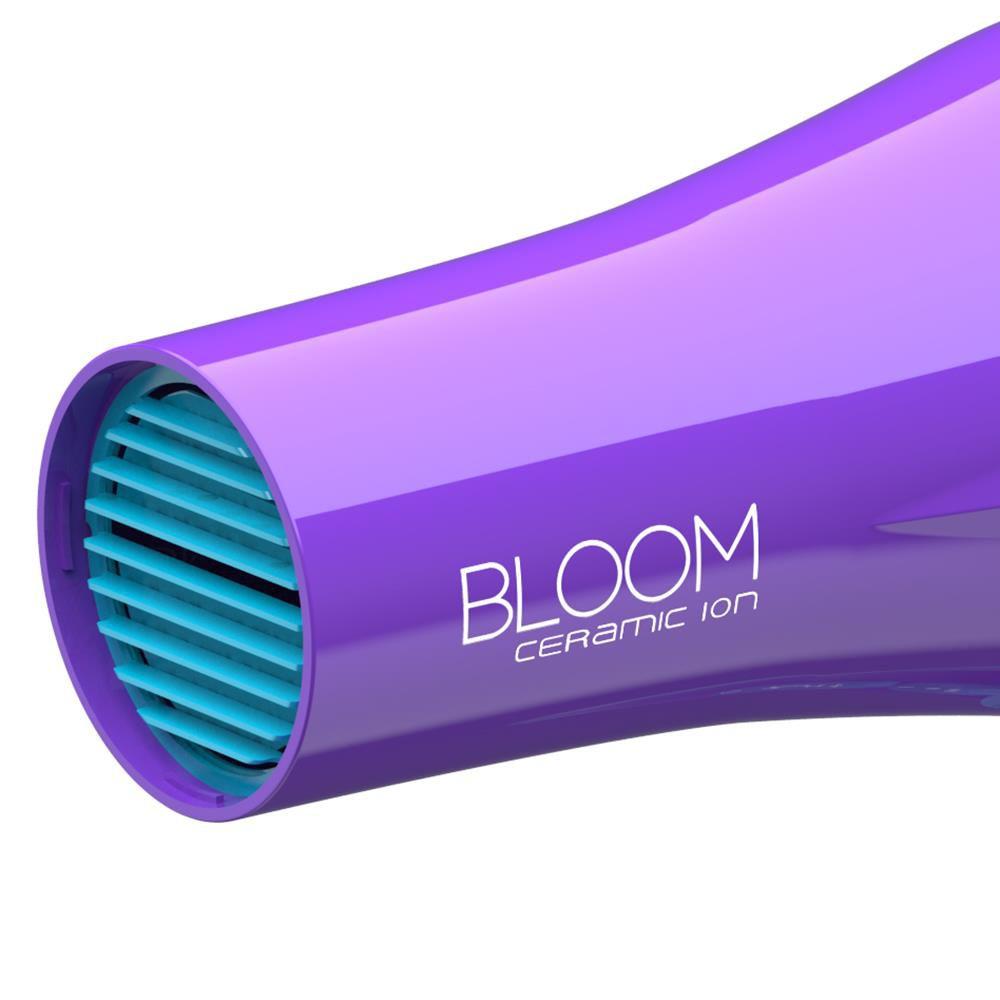 Secador Gama Bloom Ceramic Ion Violeta com Difusor 1900W 220V