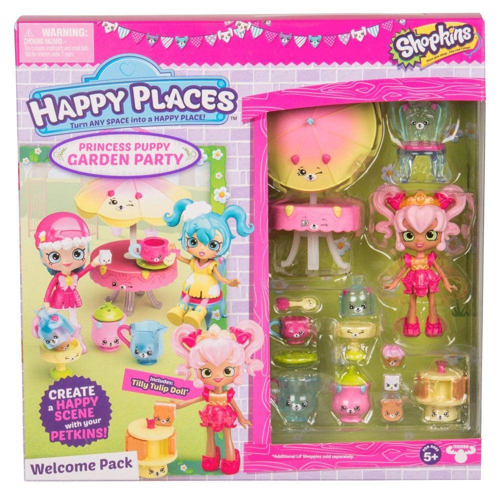 Shopkins Happy Places Kit Boas Vindas Festa no Jardim Serie 2 Ref. 4481 DTC