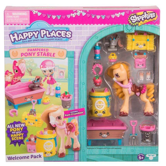 Shopkins Happy Places Kit Boas Vindas Ponei Mel Serie 2 Ref. 4481 DTC