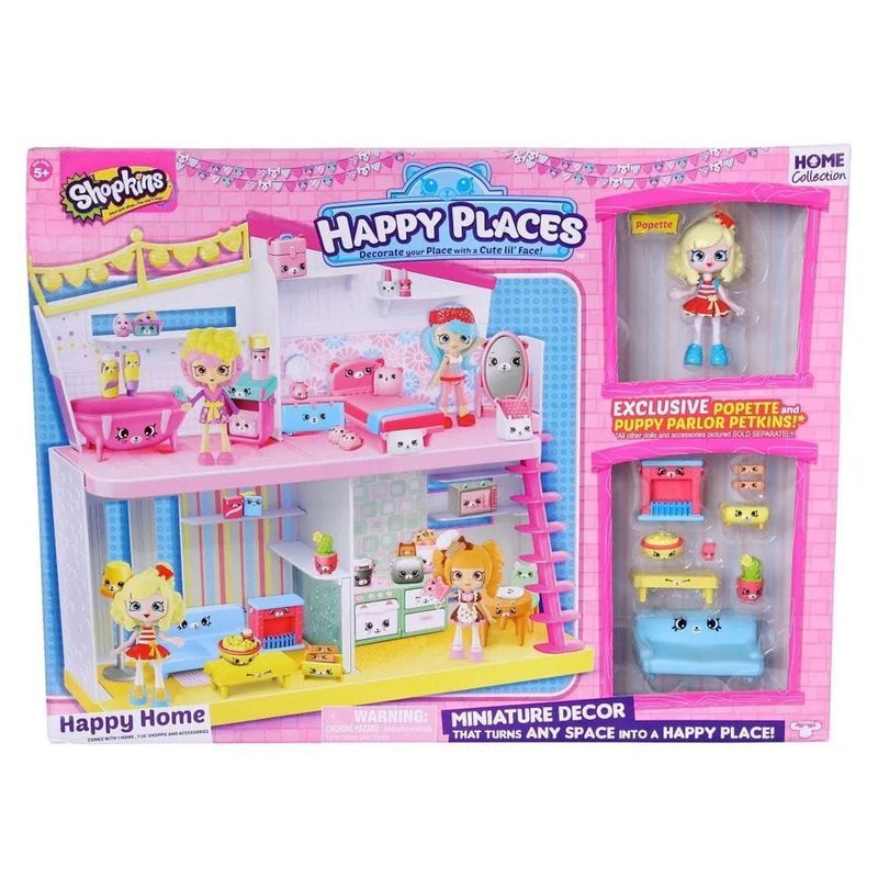 Shopkins Happy Places Kit Happy Home Ref. 4480 DTC