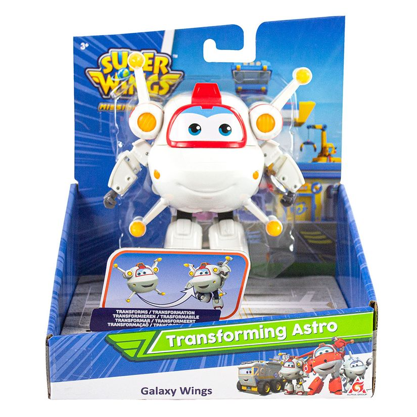 Super Wings Change em Up Astro 84913 Fun Divirta-se