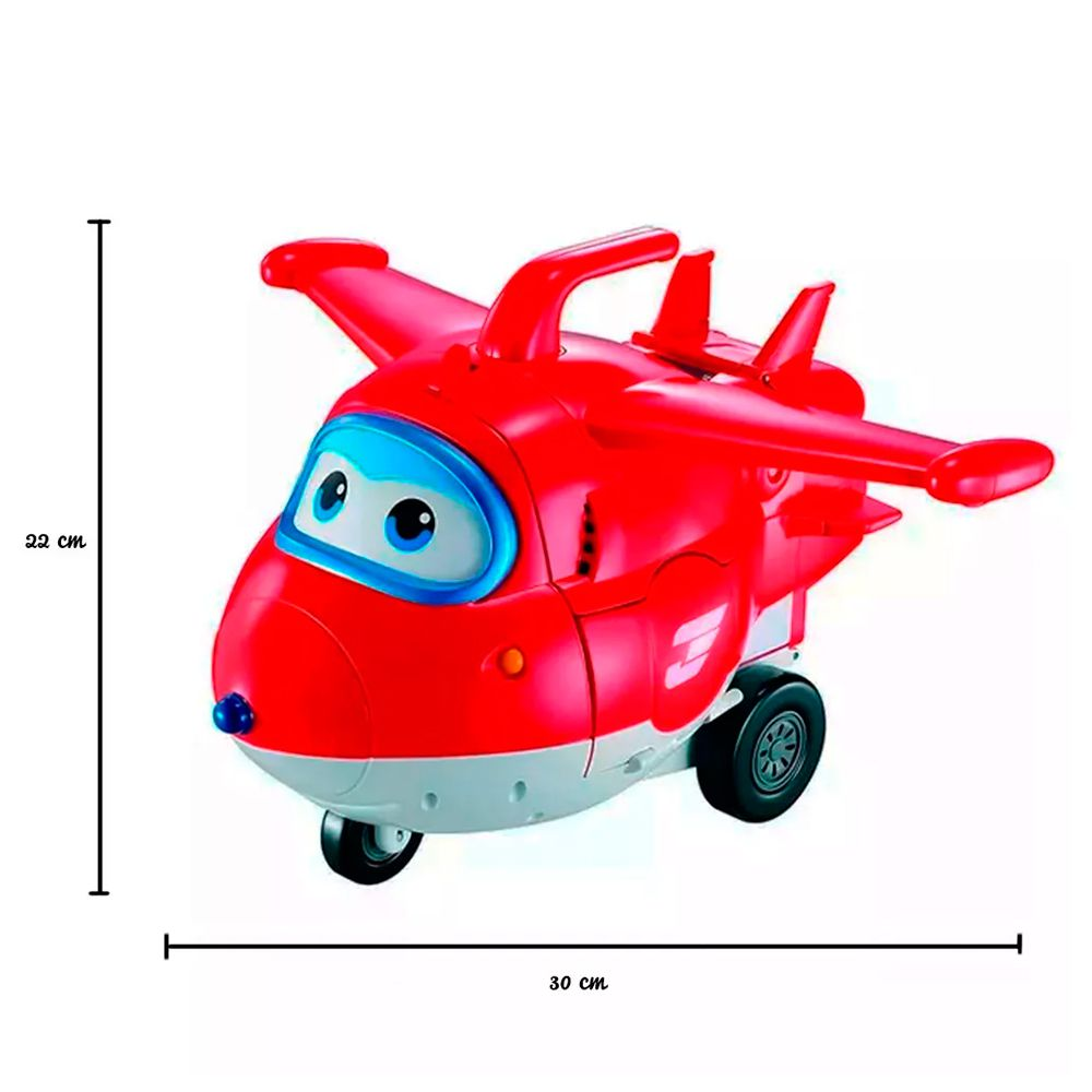 Super Wings Playset Torre de Decolagem do Jett 2 em 1 83417 Fun Divirta-se